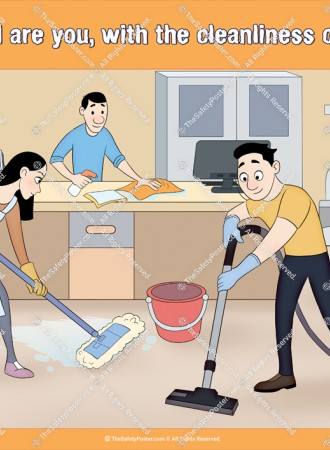 Cleanliness of workplace