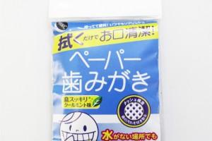 Аяны салфеткан шүд цэвэрлэгч/Цаасан шүдний сойз