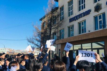 Монгол хэл бичгийн шалгалт амжилттай зохион байгуулагдлаа
