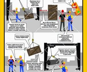 Гүүрэн кран ажиллууах үеийн аюулгүй ажиллагаа (1)