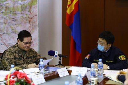 Монгол Улсын Шадар сайд, Улсын Онцгой Комиссын дарга Ө.Энхтүвшингээр ахлуулсан ажлын хэсэг Булган аймагт.