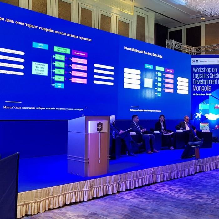 Монгол улсын ложистикийн салбарын хөгжлийн асуудлаарх уулзалт