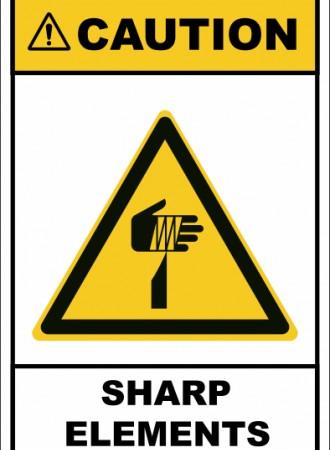Sharp elements sign