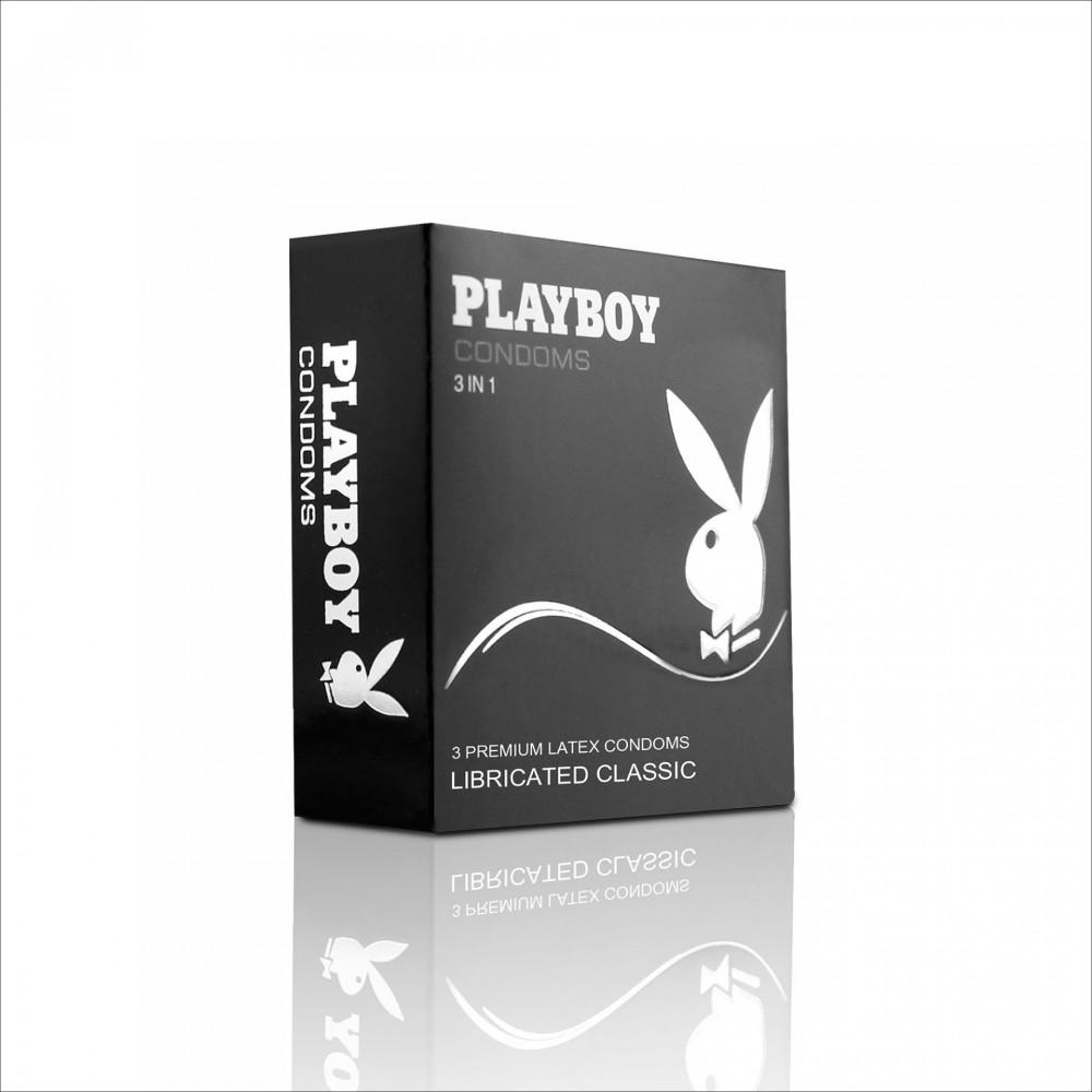 Бэлгэвч  PlayBoy Классик, 3 ширхэгтэй