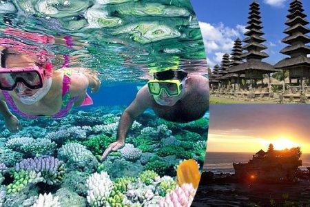 Арлуудын дундах диваажин Бали арал