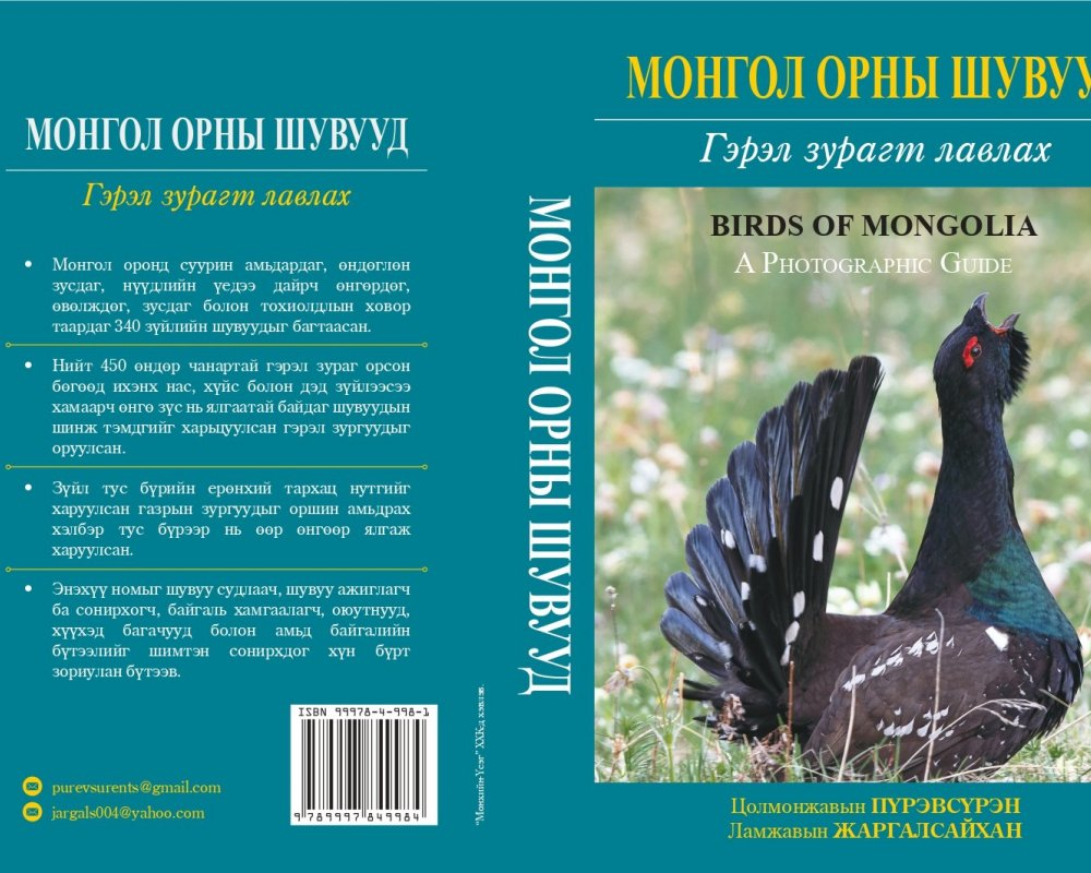 A Photographic Guide to the Birds of Mongolia