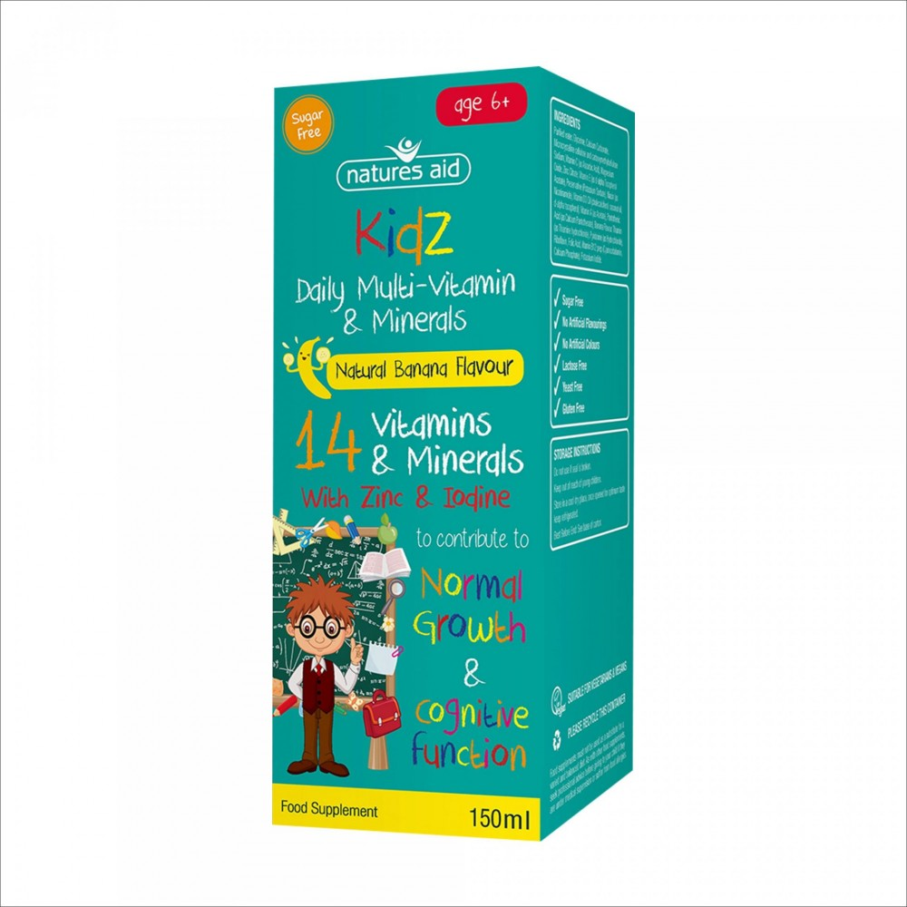 KIDS DAILY MULTI- VITAMIN & MINERALS, 150 ML