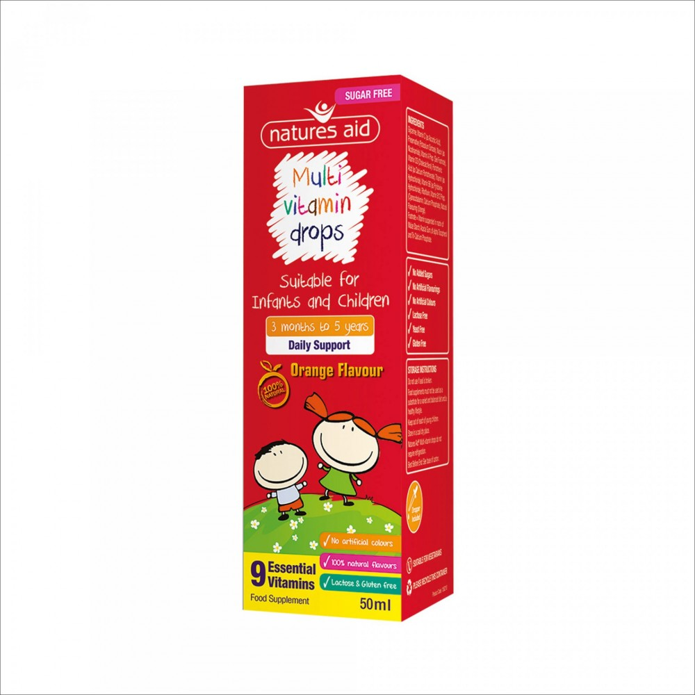 MULTI - VITAMIN DROPS, 50 ML