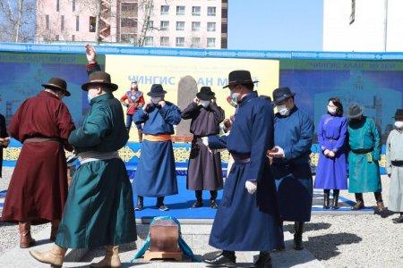 """""""Чингис хаан"""" музейн бүтээн байгуулалтын ажил эхэллээ"""