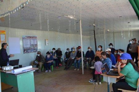 МБАНХ-ын зөвлөхүүд Говь-Алтай аймгийн Тонхил, Бугат сумдад ажиллав