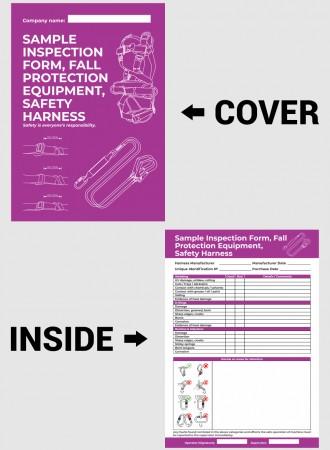 Safety harness checklist