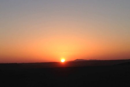 Have you seen the beauty that the sun sets with gobi?