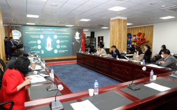 Members of the Parliament got acquainted with the activities of the GASR