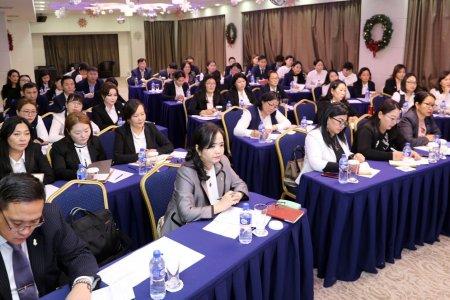 Хяналтын улсын байцаагч нарыг мэргэшүүлэх сургалт нийслэлд зохион байгуулагдаж байна