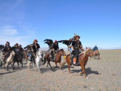 Mongolian Eagle hunters Festival for 6 days/5 nights