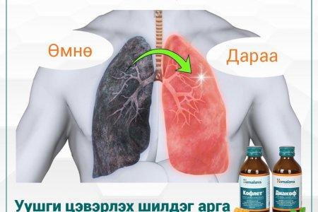 Архаг бронхиттой хүн уушгиа цэвэрлэх 5 арга