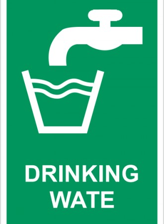 Drinking wate sign