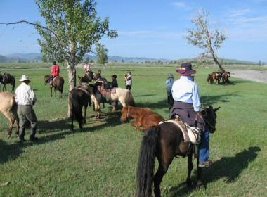 Khentii Mountains Horse Trek
