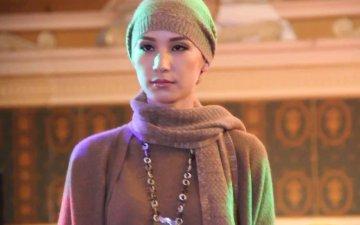 Fashion show of baby camel down products/Торомны ноосон бүтээгдэхүүний загварын шоу