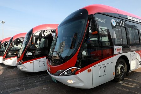 -50+ 50 градуст ажиллах ажиллах чадвартай цахилгаан автобус иргэд үйлчилнэ