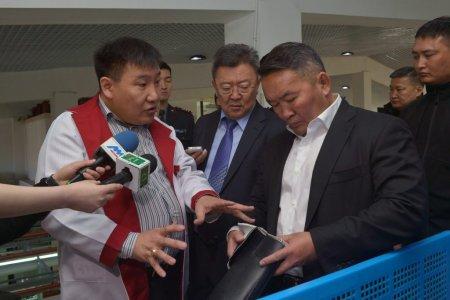 Ерөнхийлөгч Х.Баттулга дотоодын гутал үйлдвэрлэгчдийн төлөөлөлтэй уулзлаа