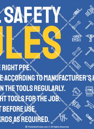 Tool safety rules