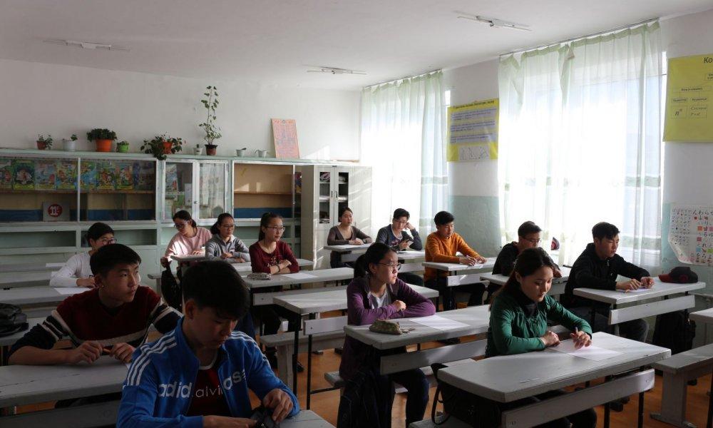 Математикийн олимпиадыг Мандах Бүртгэл дээд сургууль хамтран зохион байгууллаа