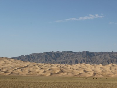 Steppe to GOBI desert