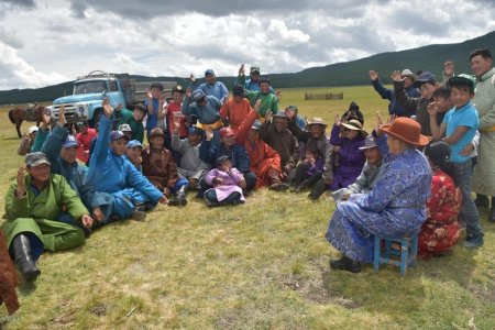 """We are supporting the development of herders by organizing a """"Pasture User Group"""""""