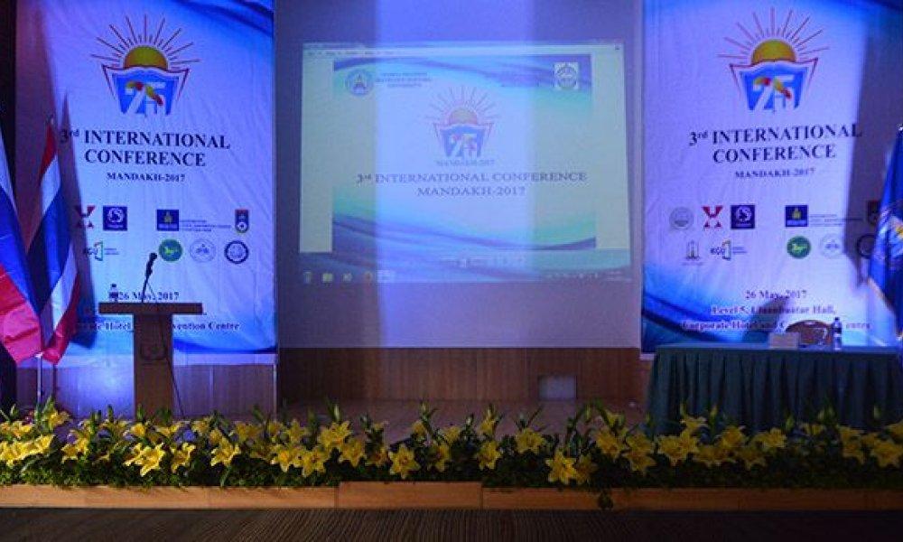 Мандах-2017 Олон Улсын Эрдэм Шинжилгээний хурал  боллоо