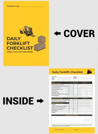 Daily forklift checklist