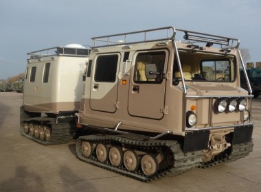 Hagglunds BV206 Гинжит аяллын машин
