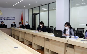 Online training to the State registration offices in 21 aimags and 9 distrticts was held