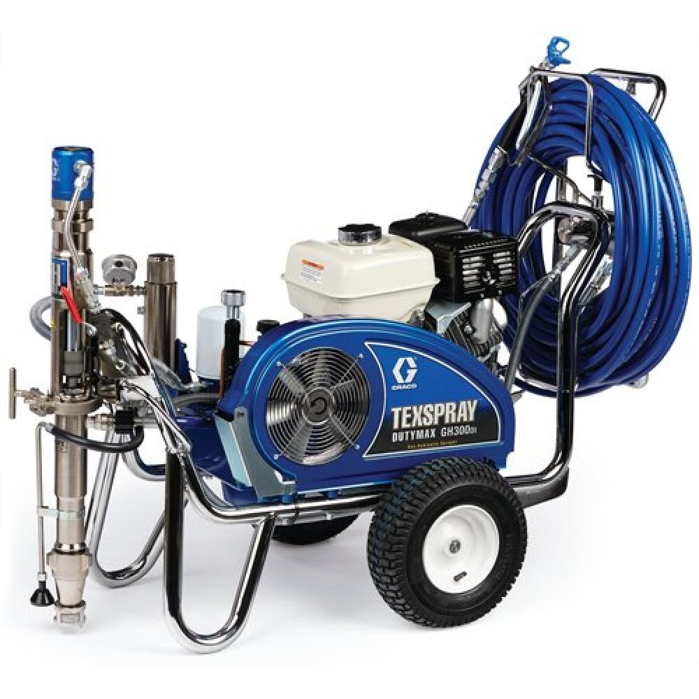 24W968 - TexSpray DutyMax GH300DI ProContractor Series Petrol Hydraulic Airless Sprayer будаг шүршигч