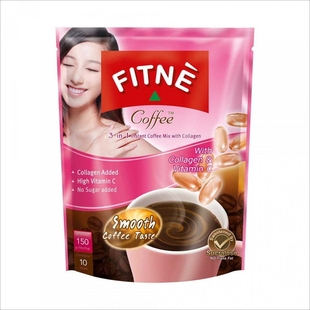 FITNE  Coffee Collagen 150 гр №10