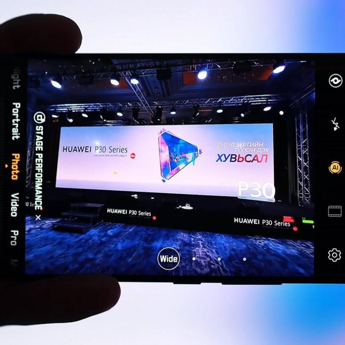 Huawei P30 нээлт