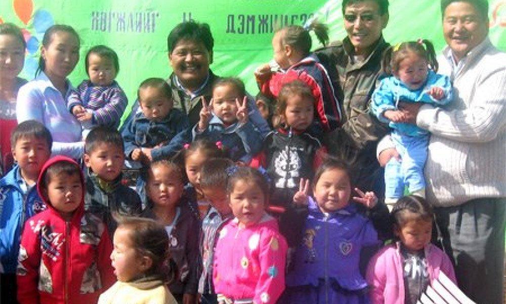 塔旺陶拉盖股份公司建设幼儿园