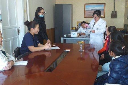 Нэгдсэн эмнэлгийн дарга, эмч, сувилагч нарт