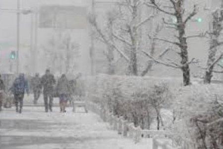 Улаанбаатарт цасан шуурга шуурна