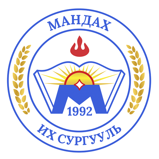 An award of Founder of Mandakh University
