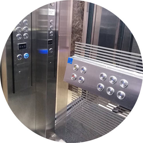 The lift is equipped for special needs learners