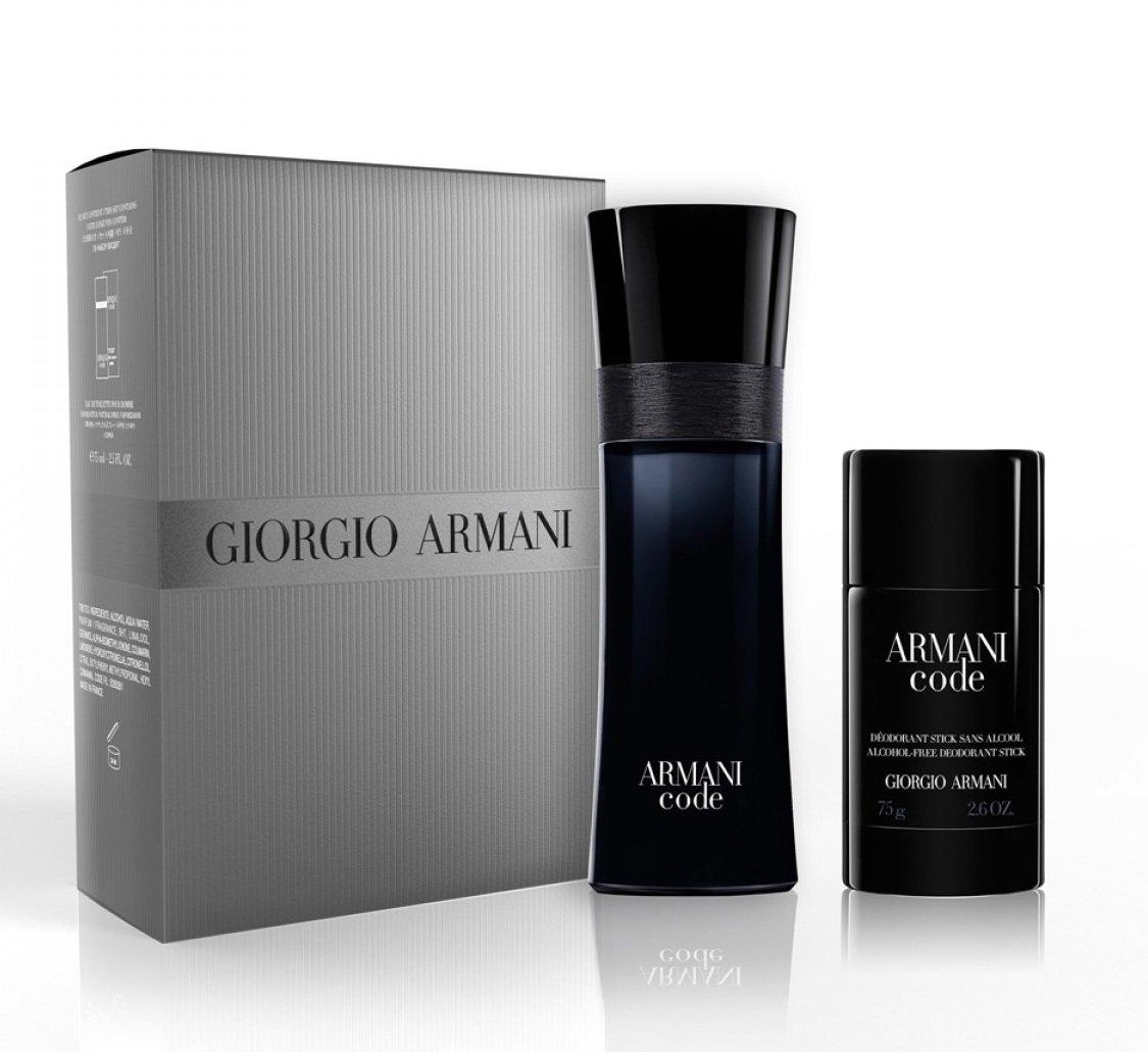 Үнэртэй ус, хөлс дарагчтай багц - GIORGIO ARMANI Code Set pour Homme