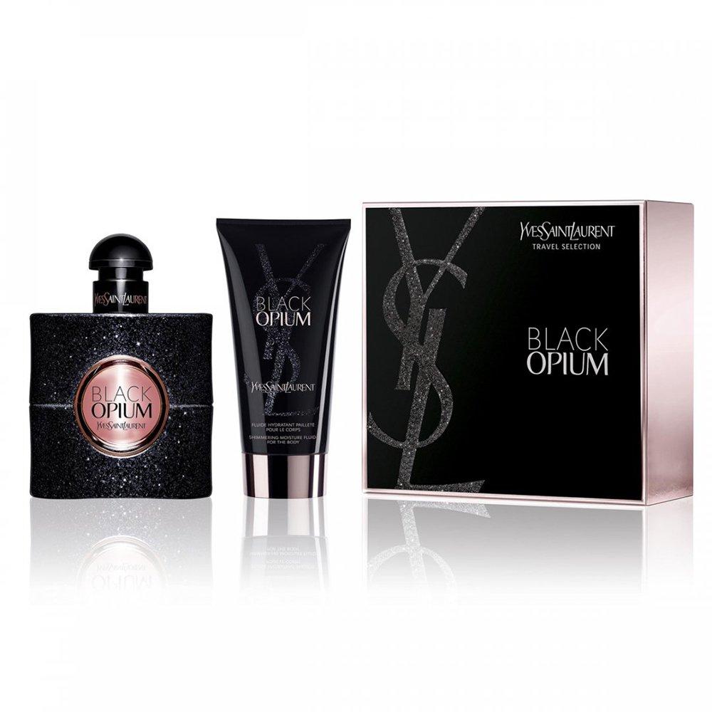 Үнэртэй ус, биеийн лосьонтой багц - YSL Black Opium Set