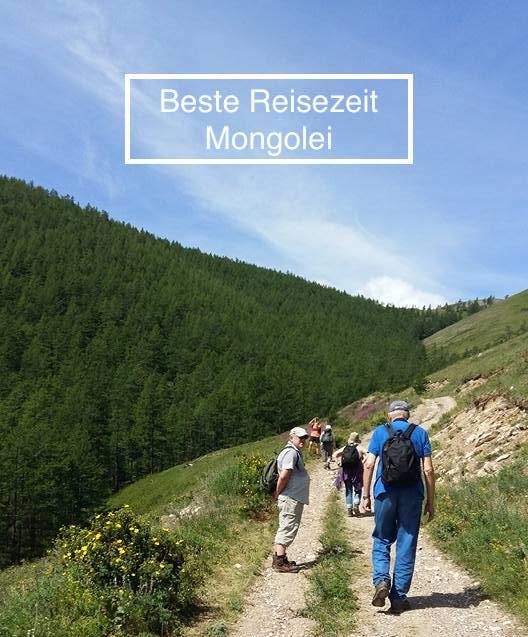 Beste Reisezeit Mongolei-Wetter