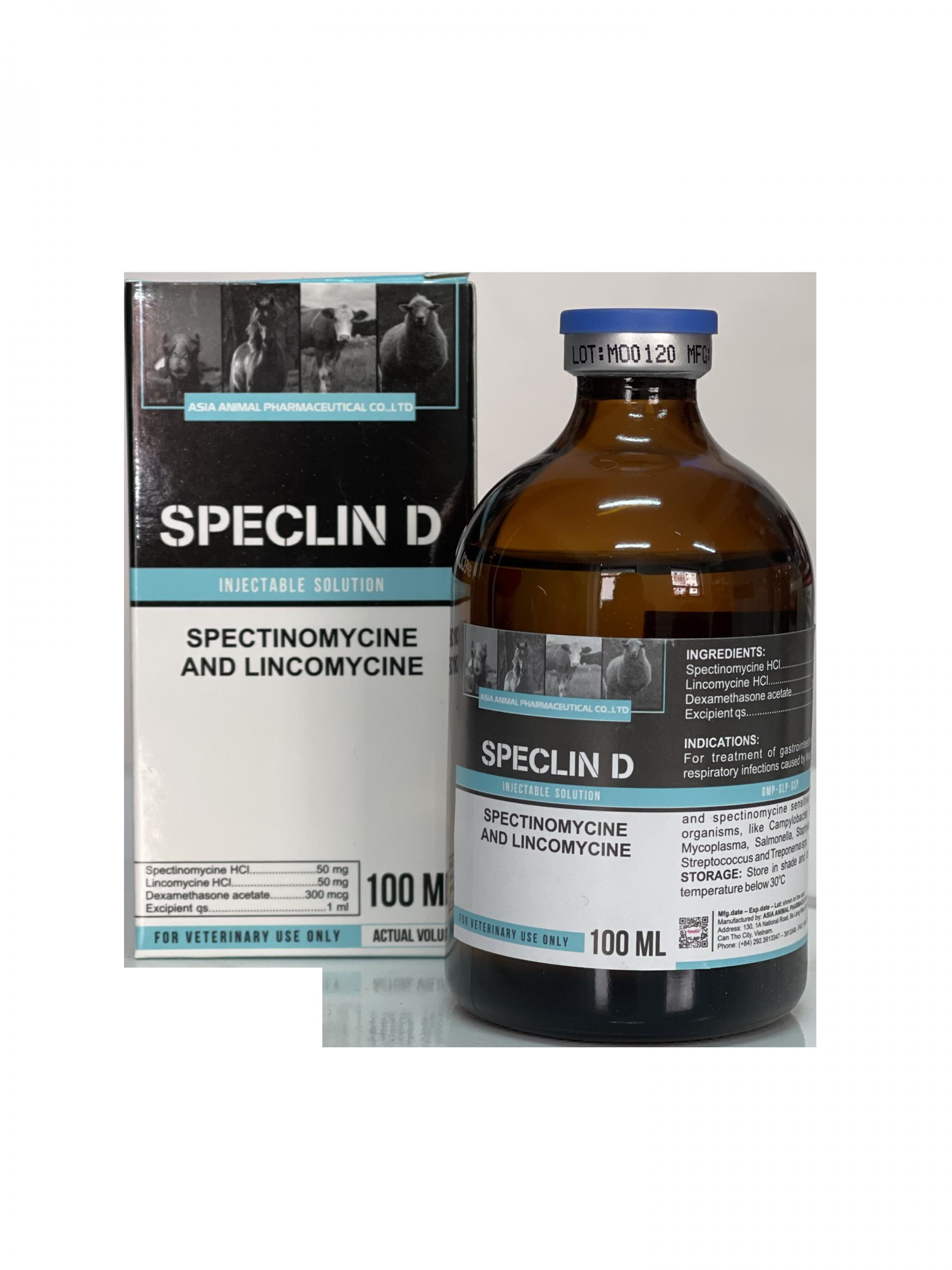 Спеклин Д /Speclin D/