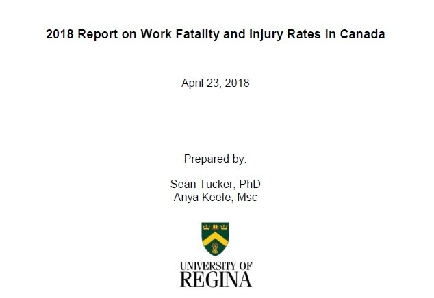 Канад улсын үйлдвэрлэлийн осол, нас баралтын талаар 2018 оны тайлан (татаж авах)