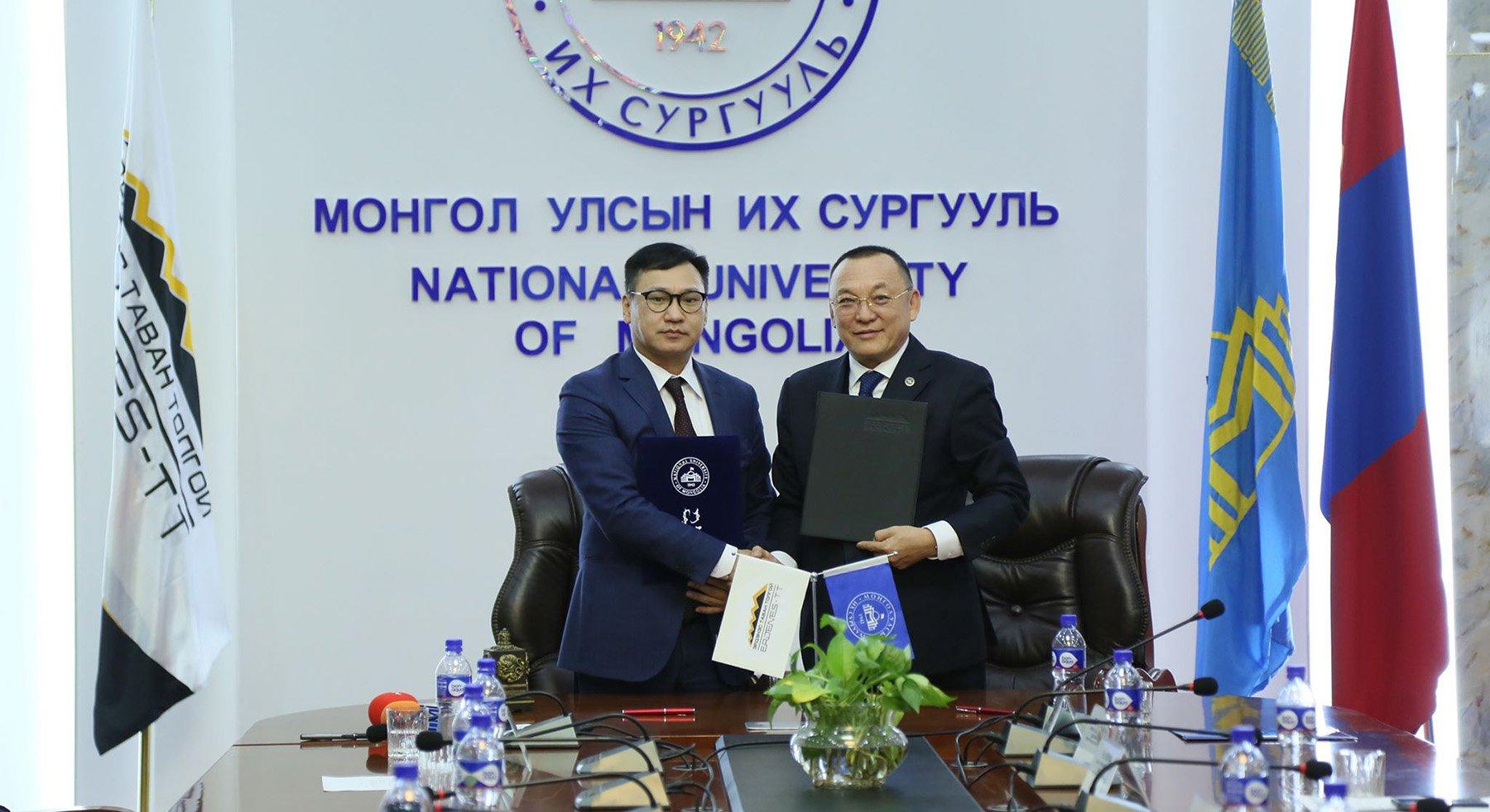 """""""Эрдэнэс-Тавантолгой"""" ХК-иас Монгол Улсын их сургуультай хамтран ажиллах санамж бичэг байгууллаа"""