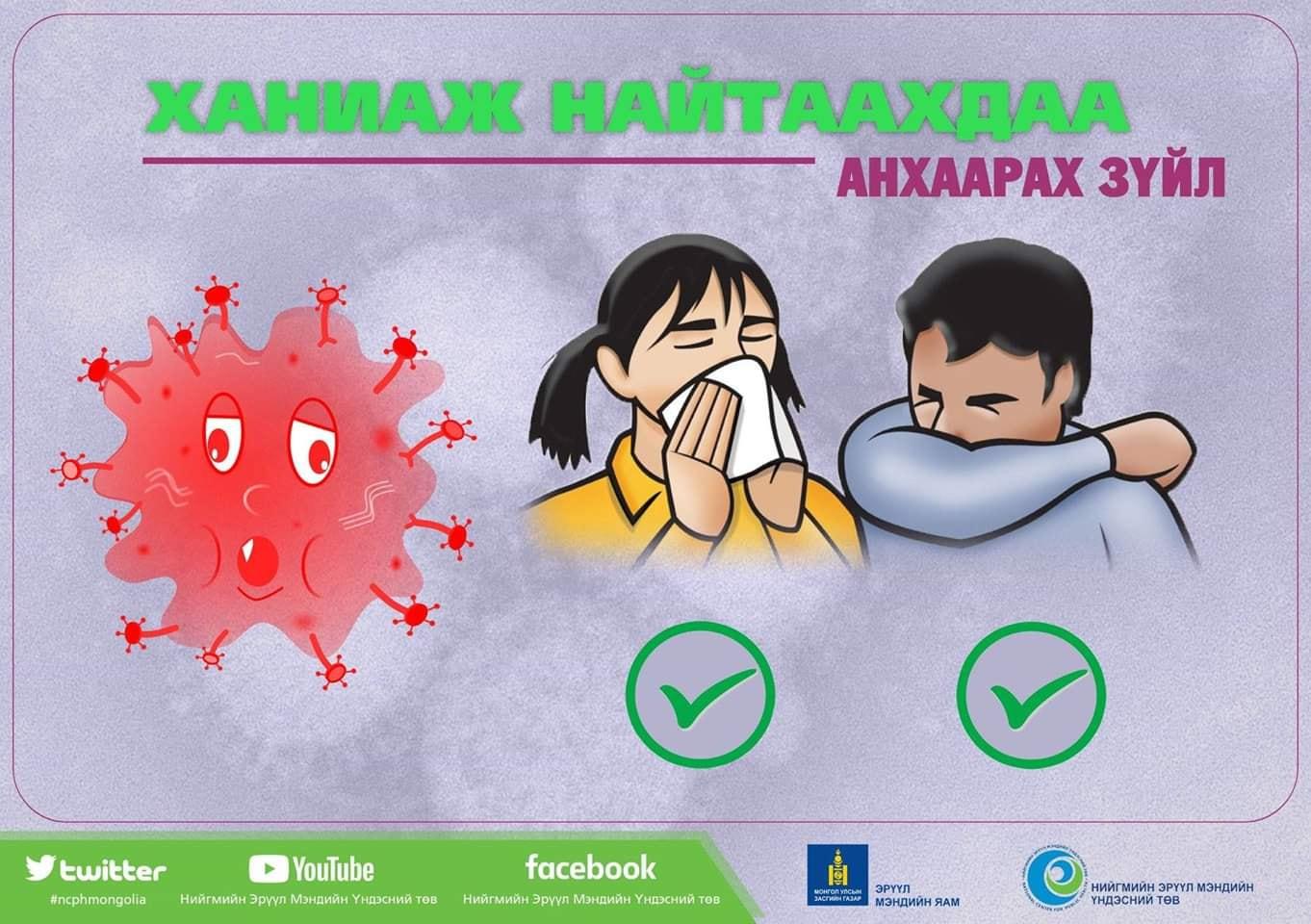 Хүний томуугийн А хүрээний /H1N1/ халдвараас сэргийлцгээе!