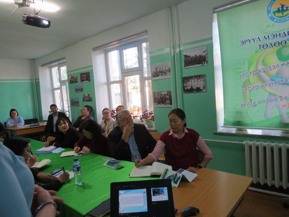 Дэлхийн Эрүүл мэндийн Байгууллагын Монгол дахь суурин төлөөлөгчид эрүүл мэндийн тогтолцоог бэхжүүлэх чиглэлээр орон нутагт ажиллалаа.