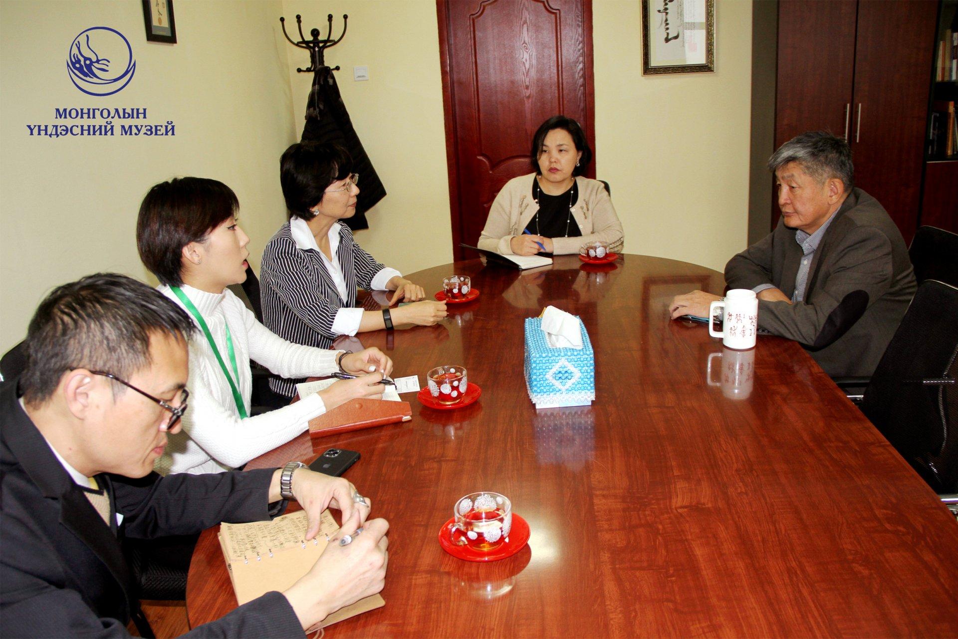 Тайпейн Худалдаа, эдийн засгийн Улаанбаатар дахь төлөөлөгчийг хүлээн авч уулзлаа